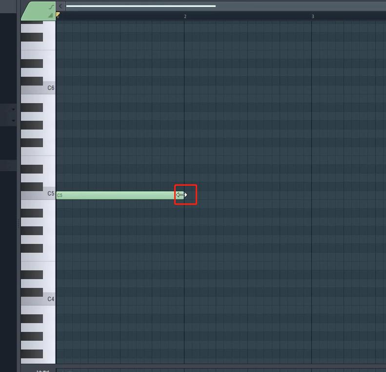图2:添加音符界面