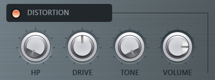Transistor Bass音色调节