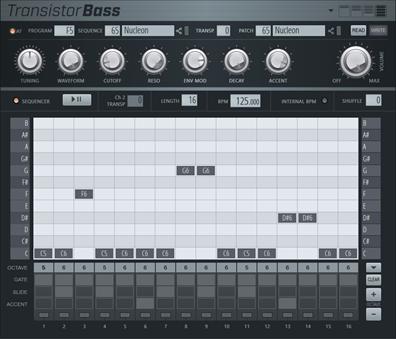 Transistor Bass音序器