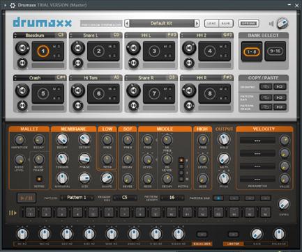 Drumaxx主界面