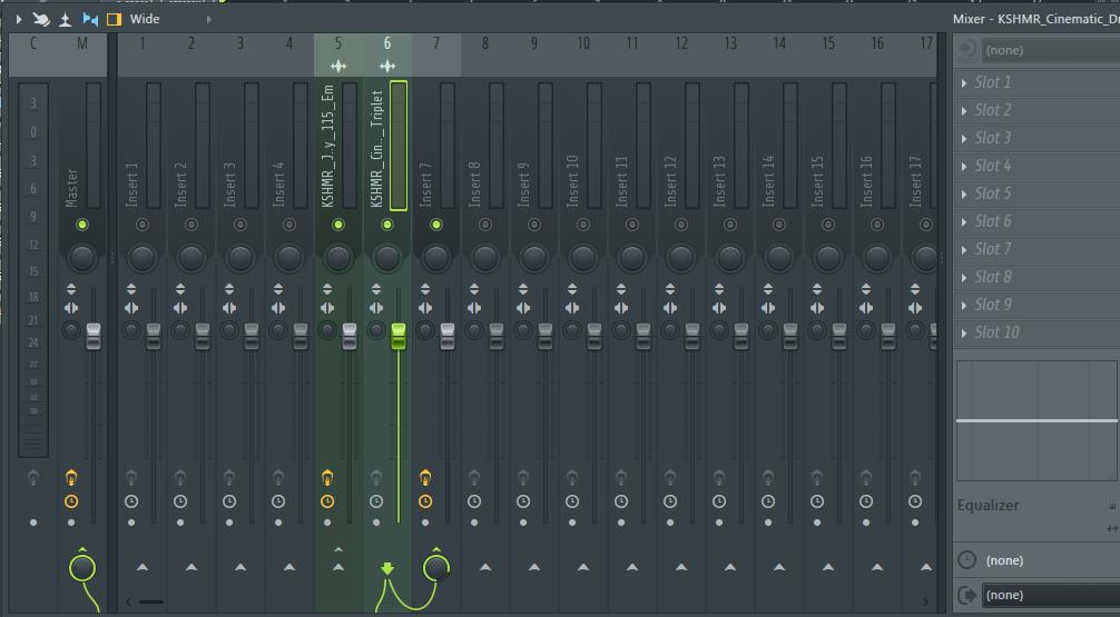 混音台连接设置