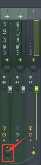 混音台设置
