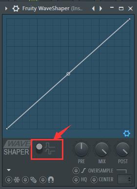 选择uity Wave Shaper的工作方式