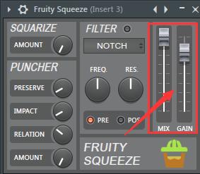 Fruity Squeeze的整体输出处理部分