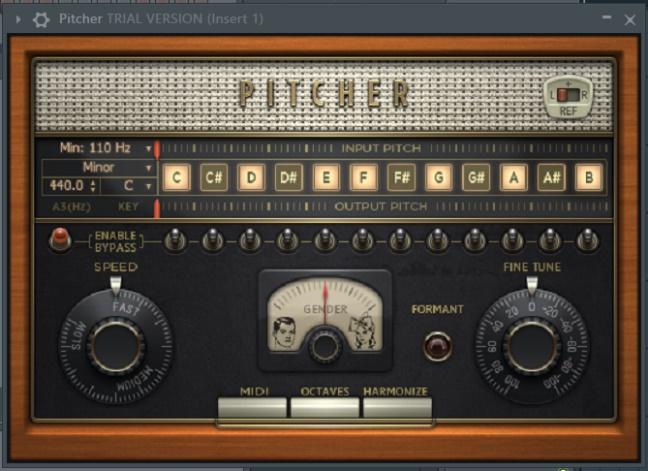 Pitcher初始界面