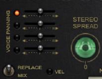 和声控制区