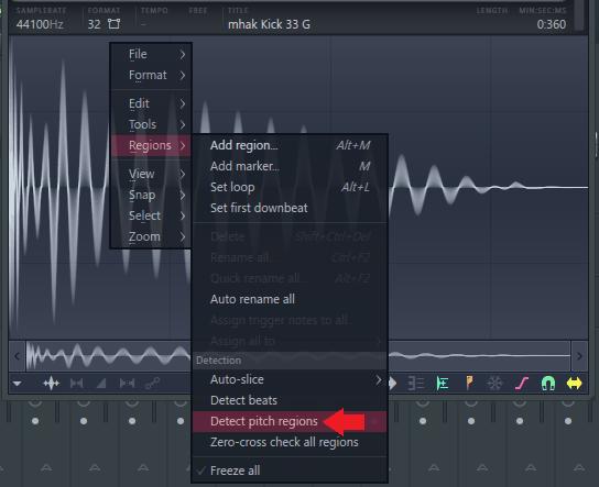 g踢检测音高区域