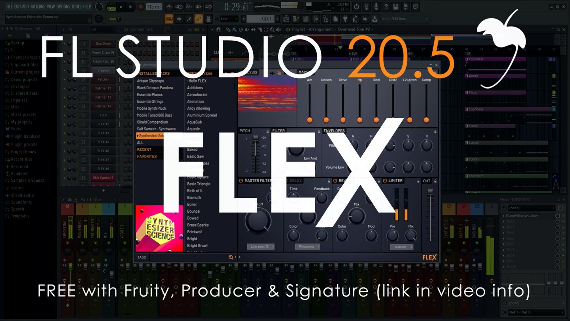 FL studio 20.5