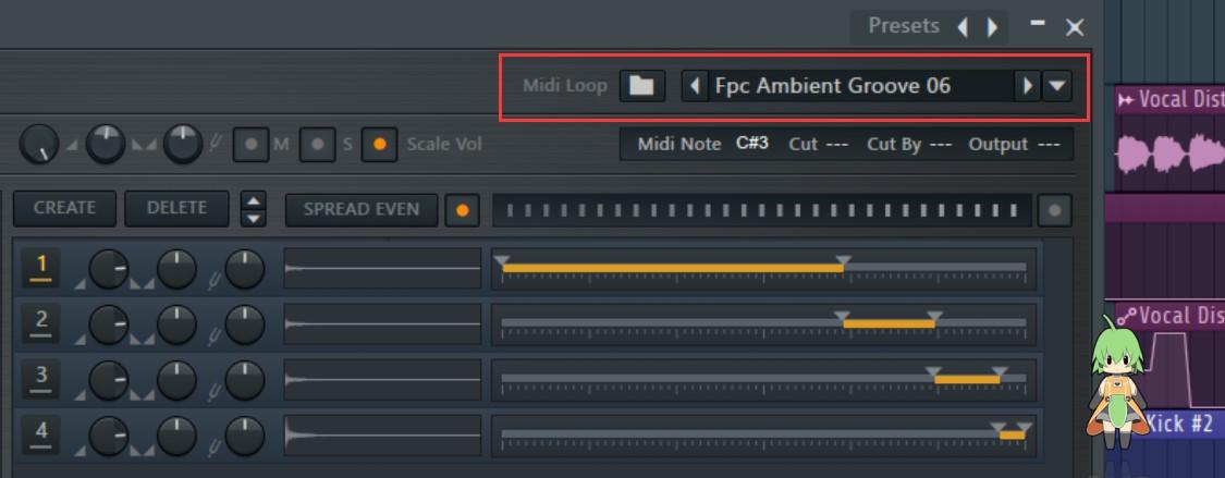 FL Studio FPC鼓机预设选项