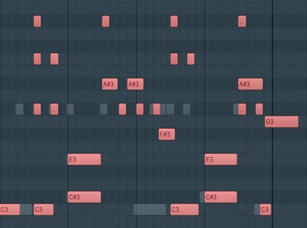 FL Studio钢琴卷轴菜单