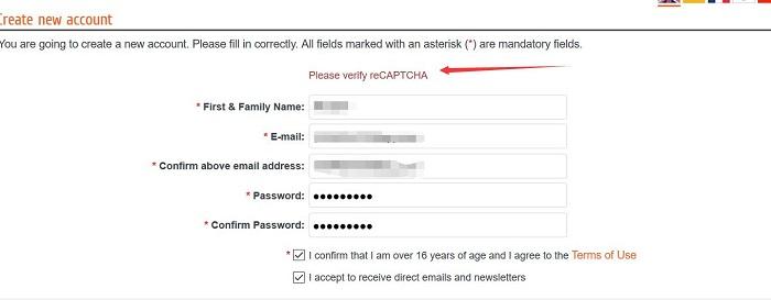 无法加载reCAPTCHA人机验证的问题