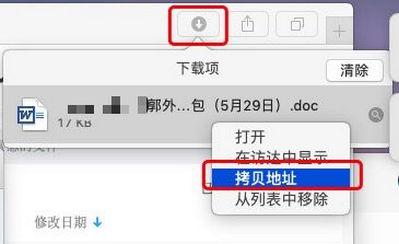 图2:复制文件下载链接