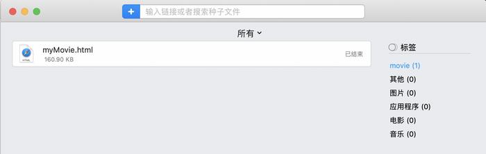 图5:显示下载的视频文件界面