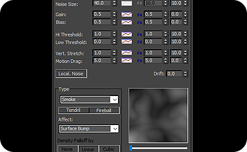 AfterBurn程序性噪声