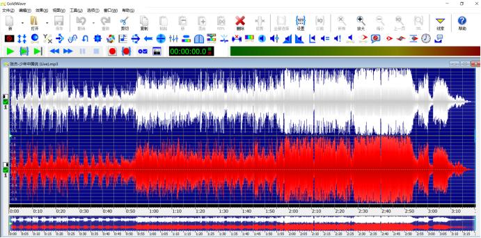 图4:音频反转前-初始效果