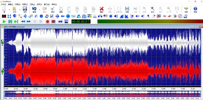 图4:音频反转后-最终效果