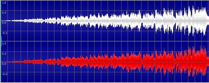 图8:淡入声波