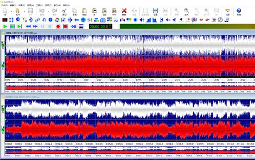 图3:已经打开的音频文件