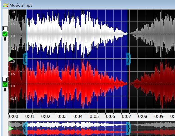 图2:选取音频片段