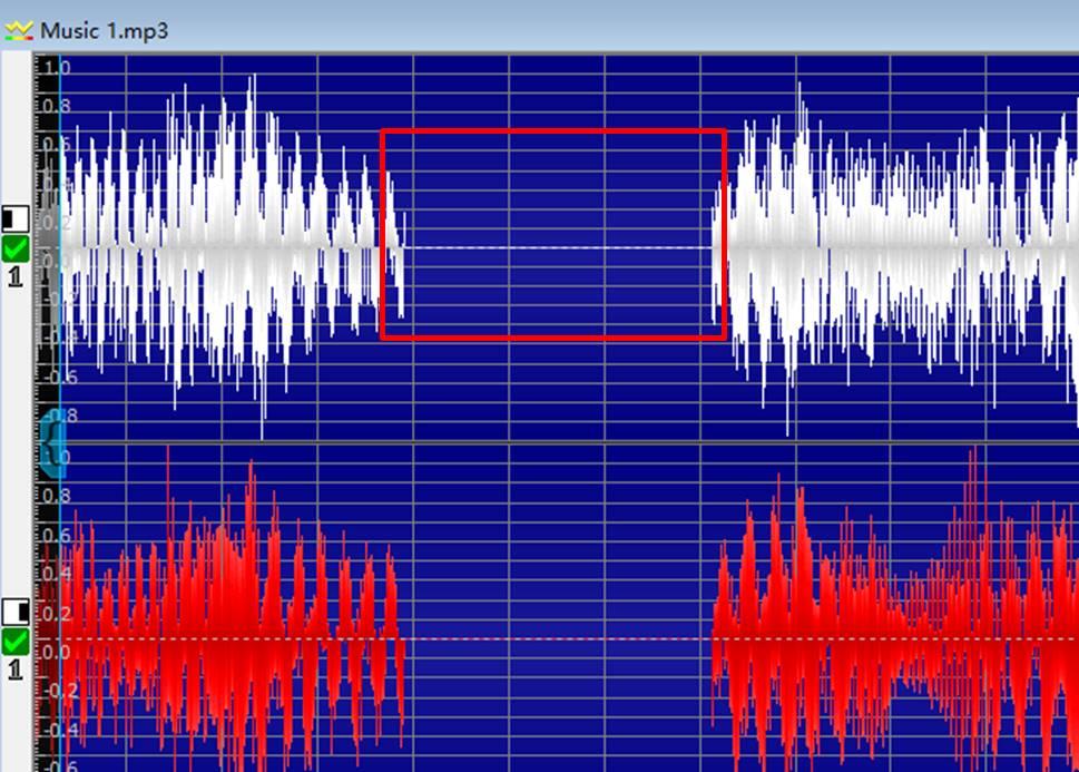 图1:静音音频