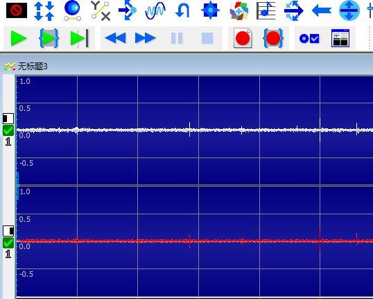 图1:安静的音频