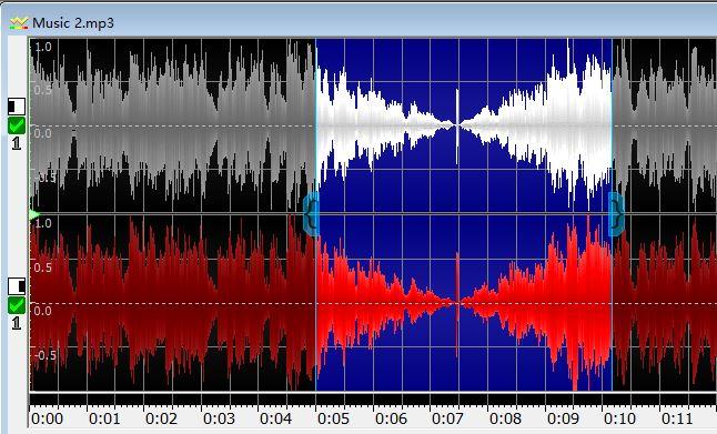 图5:音频拼接处淡入淡出