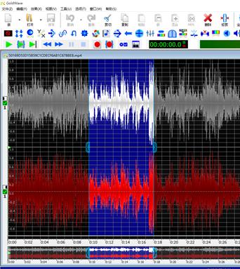 图6:删除多余音频段