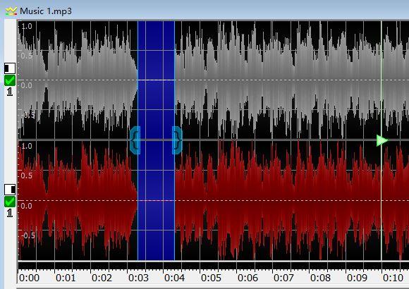 图8:完成静音音频插入