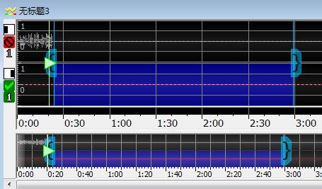 新建音頻文件界面