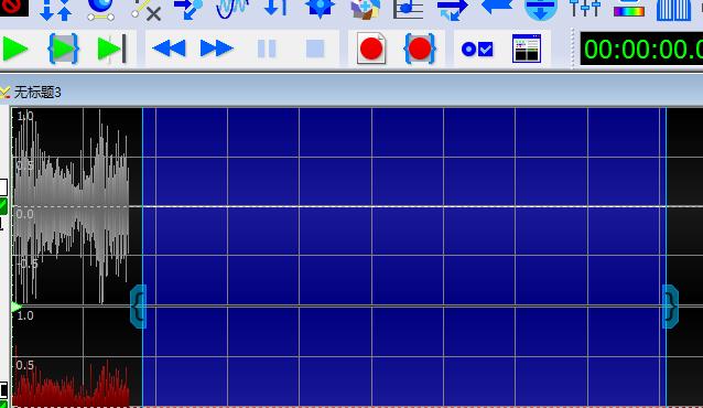 图3:分段录制界面