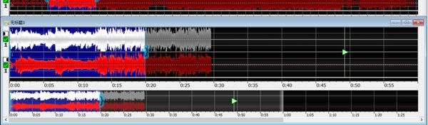 图三:音频粘贴