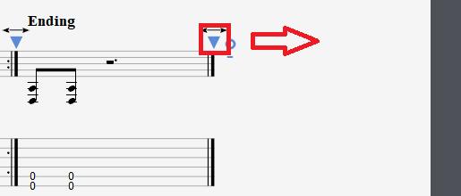 图片8:拖动箭头调节小节长度