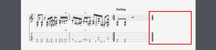 图片6:尾端曲谱示例
