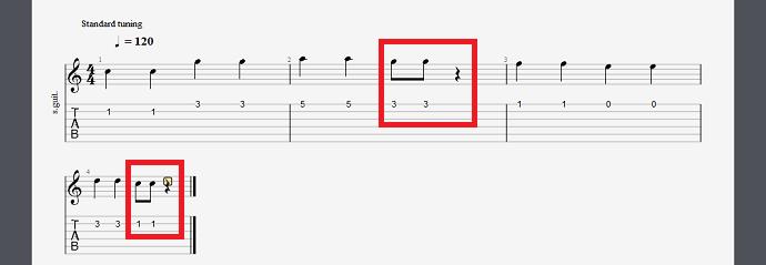 八分音符更改方法