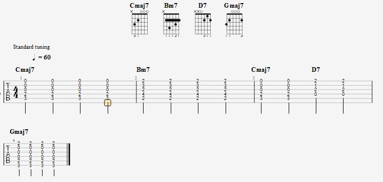 导入chord谱