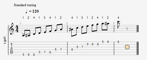 音階選擇界面