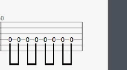 Guitar Pro中的编谱方式小功能