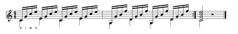 关于Guitar Pro声部的使用技巧
