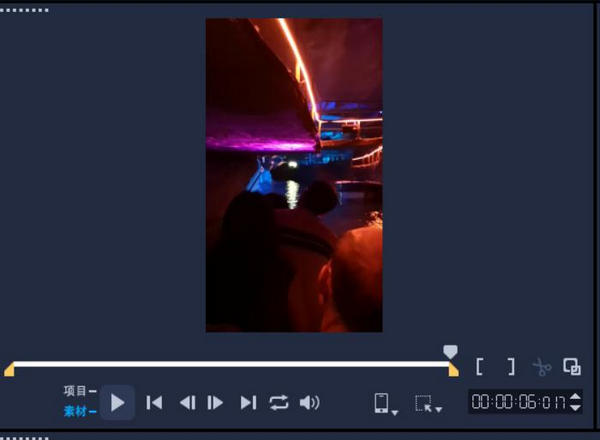 图4:视频剪辑