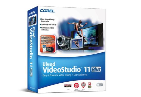 Corel Ulead VideoStudio 11 plus
