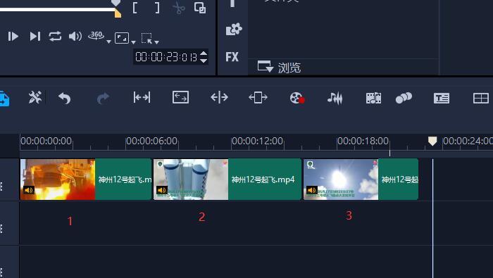 图4:三段视频