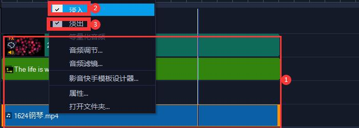 图9:音频文件设置图