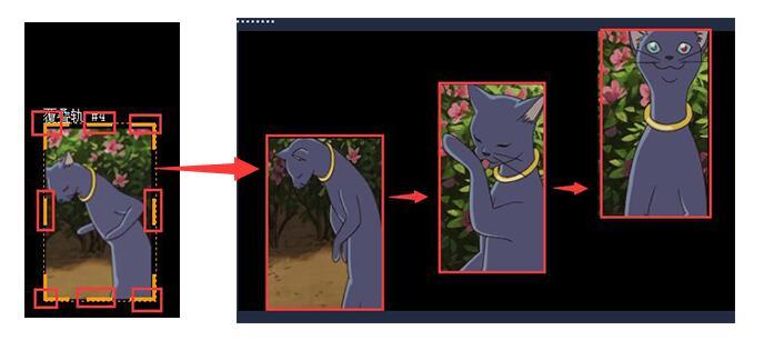 图4:剪切视频至合适状态