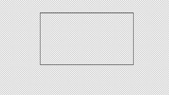 黑色边框素材