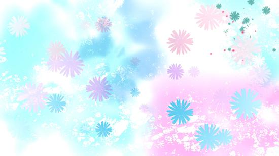 花瓣背景视频素材