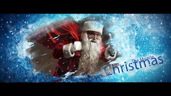 圣诞老人给大家发礼物啦
