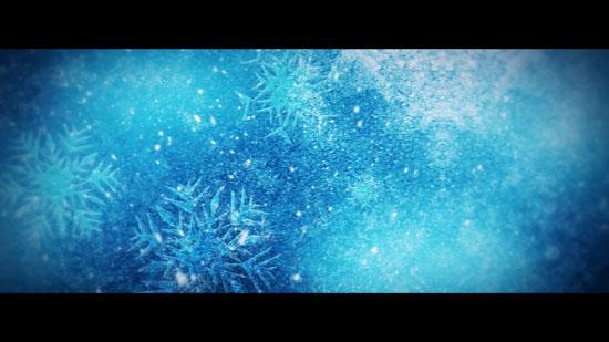 冰雪背景截图