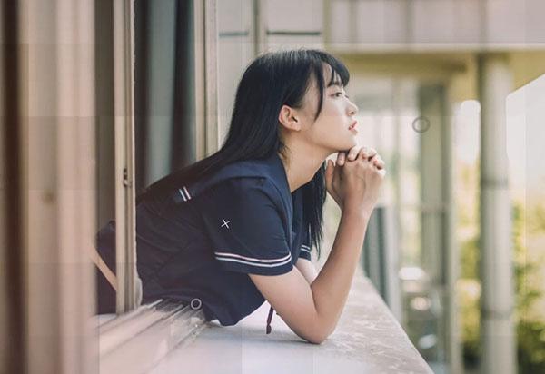 格子系少女清新视频制作