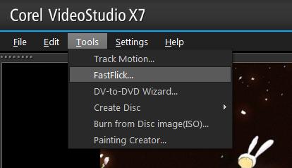 FastFlick是什么 会声会影x7 FastFlick什么意思