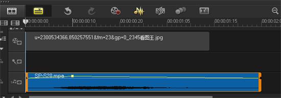 会声会影x7分段调音2